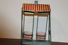 VINTAGE ANTIQUE TIN TOY SWING SET   GERMAN??