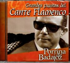 Figuras del Cante Flamenco Porrina de Badajoz (Made in Spain)BRAND NEW SEALED CD