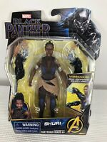 Marvel Black Panther Collectible Shuri Vibranium Gear Action Figure