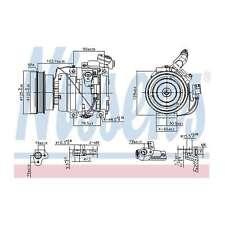 Fits Toyota Avensis T22 2.0 D-4D Genuine Nissens A/C Air Con Compressor