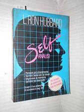 SELF ANALISI L Ron Hubbard New Era 1986 manuale corso libro di