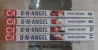 D.N.Angel Lot Volumes 8-11 Tokyopop