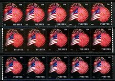 Flag & Fireworks Set of 3 PNC5s Scott's 4853 4854 & 4868 MNH As Shown