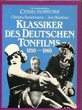 Citadel Filmbücher - Bandmann/Hembud - Klassiker des deutschen Tonfilms