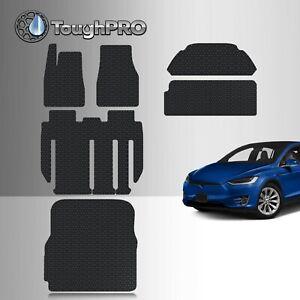 ToughPRO Tesla Model X 7 Seater Floor Mats Full Set Built From 2018 - Aug 2020