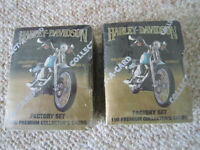 2 1992 Collect-A-Card Harley-Davidson Series 2 Collector Card Packs Factory Set