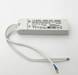 ELD ET60FLY Electronic Low Voltage SELV Lighting Transformer 12V AC - 10 - 60VA