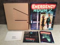 Emergency Room 2 PC Game Big Box Complete 1999 Legacy Win 95/Mac Disc Sealed