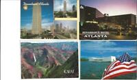 LOT OF 200 MIXED SUBJECT UNITED STATES CONTINENTAL SIZE POSTCARDS Great Variety!