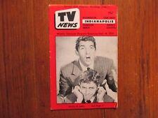 Sept. 16-1955 Indianapolis TV News Maga(MARTIN & LEWIS/JAMES ARNESS/PHIL SILVERS