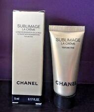CHANEL Sublimage La Creme Texture Fine 5 ml / 0.17 fl oz (great travel size) NIB