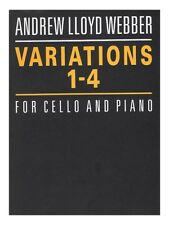 Andrew Lloyd Webber Variations 1-4 Learn to Play Present Gift MUSIC SHEET