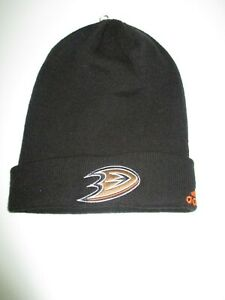NWT Anaheim Ducks Men's Knit Beanie from Adidas -free shipping-