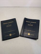 Official Catalogue Of Swiss Watch Repair Parts- Part One And Two- Rolex-Omega