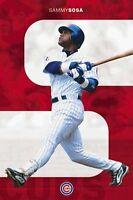 New Costacos MLB Chicago Cubs Sammy Sosa Baseball Wall Poster 22.5 x 35