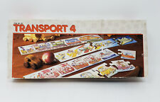Discovery Toys Transport 4 Puzzle Set Trains Cars Planes Ships (1984)