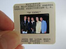 More details for original press photo slide negative - nsync - 1999 - j - justin timberlake