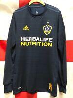 Adidas LA galaxy Away Jersey 18 /19 Navy Blue  Authentic Versión Size Medium