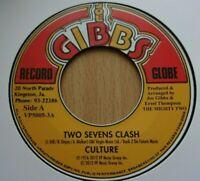 "CULTURE - Two Sevens Clash / Fulfillment - 7"" Vinyl  Joe Gibbs 🇧🇴 ROOTS REGGAE"