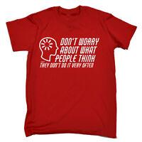 Funny T Shirt - What People Think - Birthday Joke tee Gift Novelty T-SHIRT