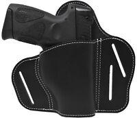 Premium Leather 2 Position Tactical Belt Holster for Taurus PT111 G2 Millennium
