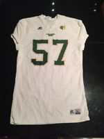 Game Worn Used Colorado State Rams Football Jersey #57 Russell XL FROLAND