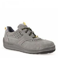 SIZE 10.5 JALLATTE JALMATCH J0351 GREY SUEDE SPORTS SAFETY TOE CAP BOOT TRAINERS