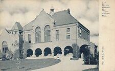 METHUEN MA – Nevins Memorial Hall Nevens – udb (pre 1908)