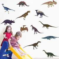 Cartoon Animal Wall Decal Dinosaur Vinyl Sticker Kids Baby Room Wall Art Decor
