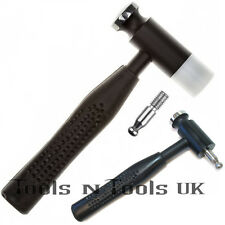 Dapping Hammer Wire Jewellery Hammers with 2 Interchangeable Heads Nylon & Steel