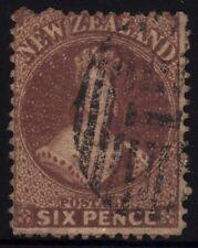 Handstamped Used New Zealand Stamps