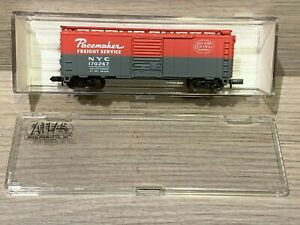 N Scale Atlas 40' Box Car NYC Pacemaker 3421 New York Central 170267 Freight Ser