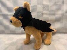 """BAT DOG Six Flags Batman Plush 12"""" Stuffed Toy DC Comics Puppy"""