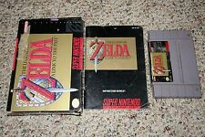Legend of Zelda: A Link to the Past (Super Nintendo SNES) Complete in Box D