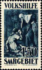 SARRE / SAARGEBIET - 1929 Mi.138 1fr50 (+ 75c) - Mint*