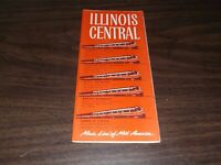 APRIL 1961 ILLINOIS CENTRAL RAILROAD SYSTEM PUBLIC TIMETABLES