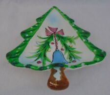 Vintage Collectable 1959 Holt Howard Ceramic Christmas Tree Candy  Dish