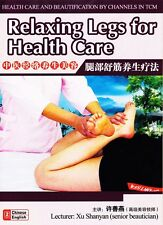 Health Care & Beautification by channels Tcm - Relaxing Legs for Health Care Dvd