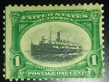 Travelstamps: 1901 US Stamps Scott #294 Fast Lake Navigation mint, og, hinged