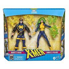 """Hasbro Marvel Legends Series 6"""" - Havok y Polaris, Pack de 2 Figuras de Acción Collectibles (E8613)"""