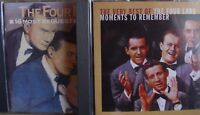 Four Lads- 16 Most Requested Songs/ The very Best of- 2 CDs- lesen!