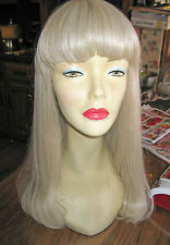 Helena Collection Long Full Wig (Style Showgirl with Bangs) 7 Colors Available