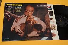 LOUIS ARMSTRONG LP 1°ST ORIG '70 ITALY RCA MONO COPERTINA CARTONATA RARE !!!