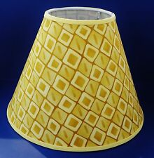 Gold Yellow Diamond Lamp Shade Handmade Lampshade