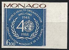 MONACO n° 1636 ESSAI de couleur - colour proof, thèmes : OMS, santé, médecine