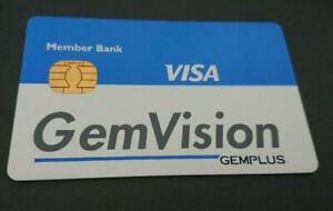 1992 VISA CASH CARD - MEMBER BANK - *GEM VISION - GEMPLUS* - PROMOTIONAL ISSUE