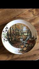 Set of 5 Peter Barrett Collector Plates 1979 Franklin Mint Porcelain