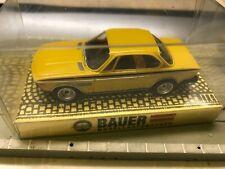 Bauer Modellrennbahnen Auto für (Faller, AMS) #4465 BMW Coupe 3.0 CSL - gelb neu