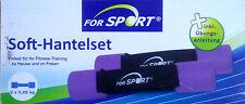 Soft Hantelset Hantel Hanteln Sport Fitness Übungen inkl. Anleitung