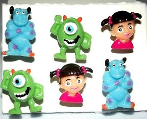 MONSTER INC CHARACTER Push Pins - Handmade 6pc Message Board Decor Set